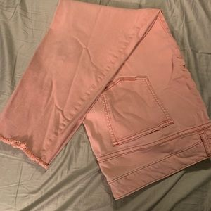 Pink Maurices jeans